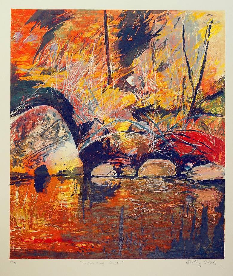 Arthur Boyd  - Reflecting Rocks