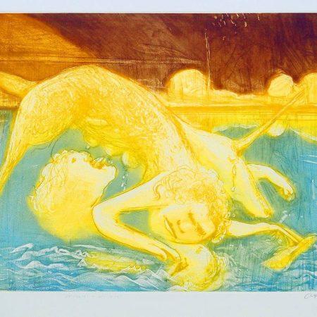 Arthur Boyd  - Narcissus & Unicorn