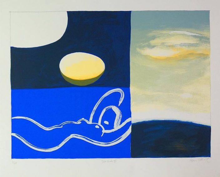 Adrian Lockhart  - Blue Nude II