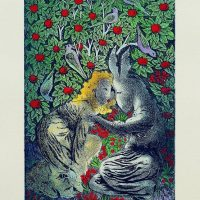 Anne Smith - Titania & Bottom  - Moonlight Tryst