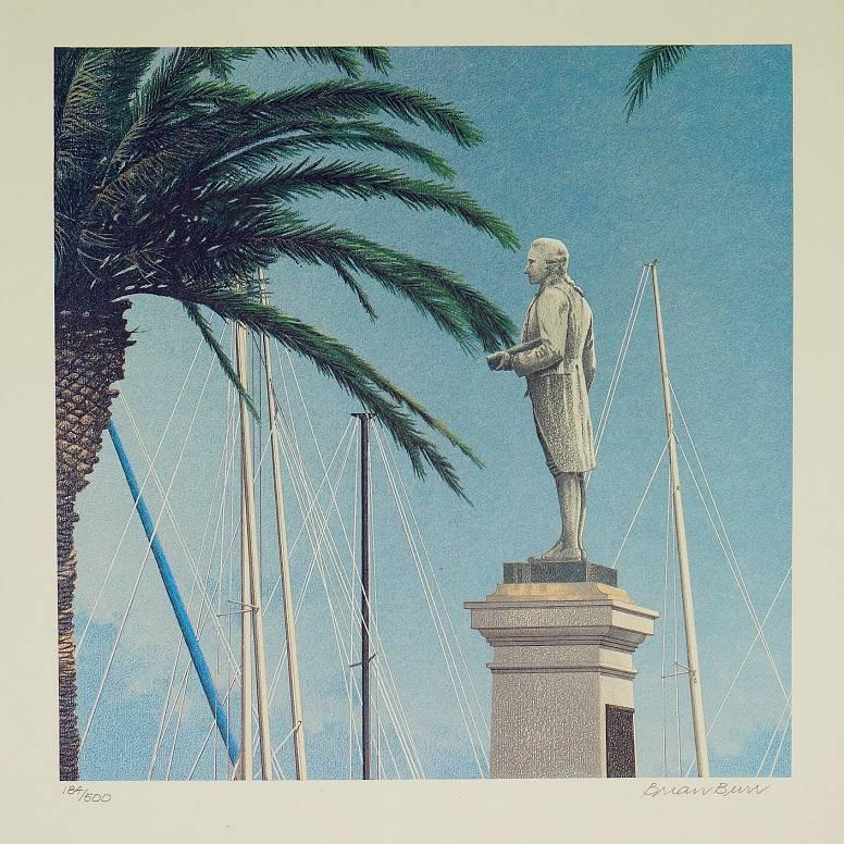 Brian Burr - Statue