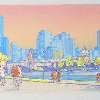 Bill Walls - Melbourne Across the Yarra