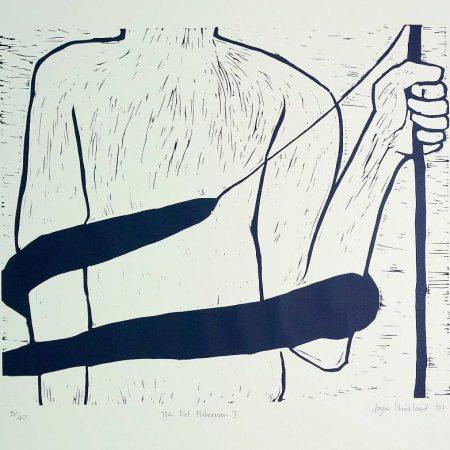 Jane Strickland - The Eel Fisherman I