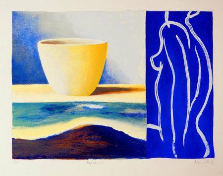 Adrian Lockhart  - Blue Nude I