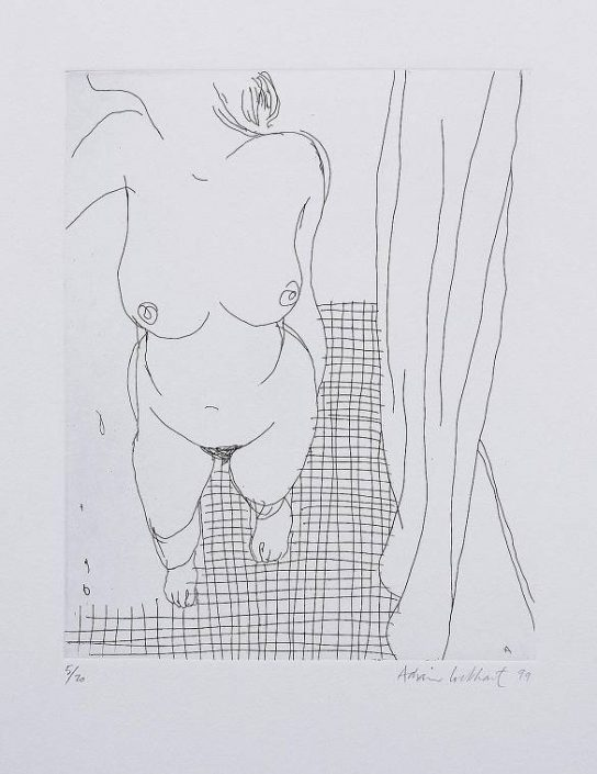 Adrian Lockhart  - Bathroom Floor  - untitled