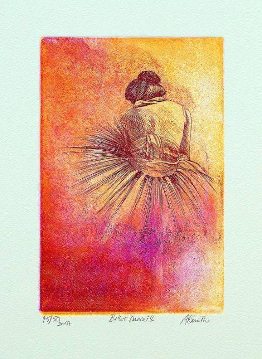 Anne Smith - Ballet Dancer ll  2nd State