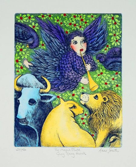 Anne Smith - The Magic Flute - Gang Gang Parrots