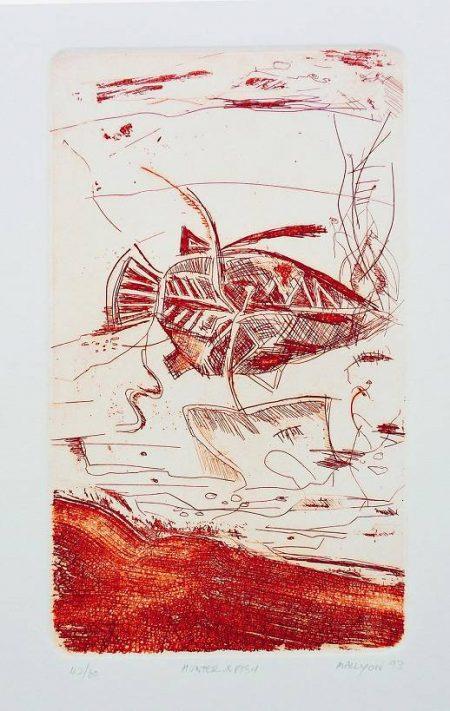Greg Mallyon  - Hunter and Fish
