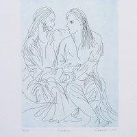 Judy Cassab  - Courting