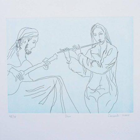 Judy Cassab  - Duo