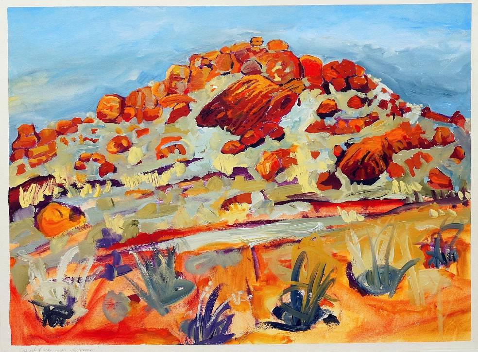 Julie Donald - Special Rocks near Norseman