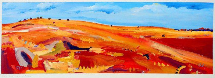 Julie Donald - Bare Hill Near Adelaide
