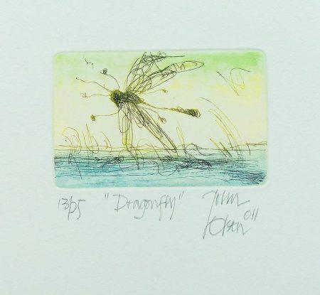 John OLSEN - Dragonfly