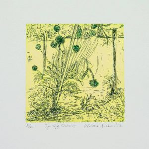 Kareen Anchen - spring onions