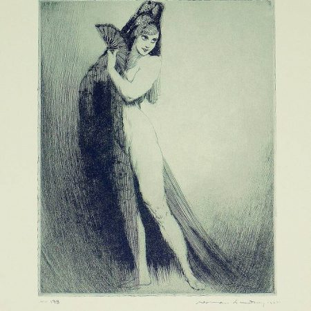 Norman Lindsay  - The Mantilla