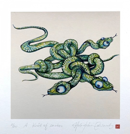A knot of snakes
