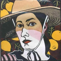 Self Portrait with Lemons
