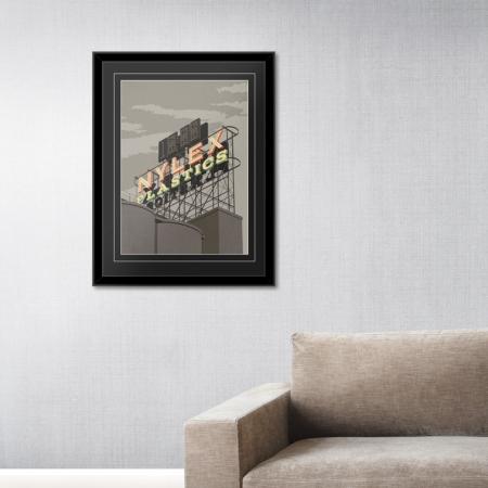 Nylex-frame
